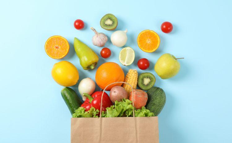 Frutta e verdura: i 5 colori