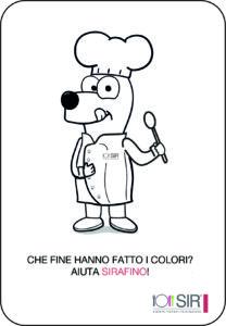 immagine sirafino da colorare