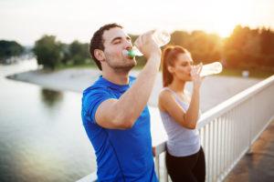 immagine idratazione dopo esercizio fisico