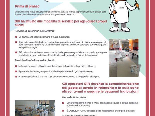 Misure di prevenzione attuate per il Covid-19